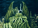 In his house at R'lyeh dead Cthulhu waits dreaming